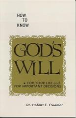 Ho to Know God's Will